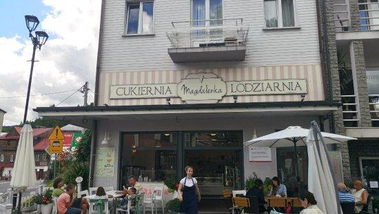 Piwniczna, Polandia: widok z zewnątrz