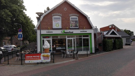 Nunspeet, The Netherlands: The Happy Food establishment