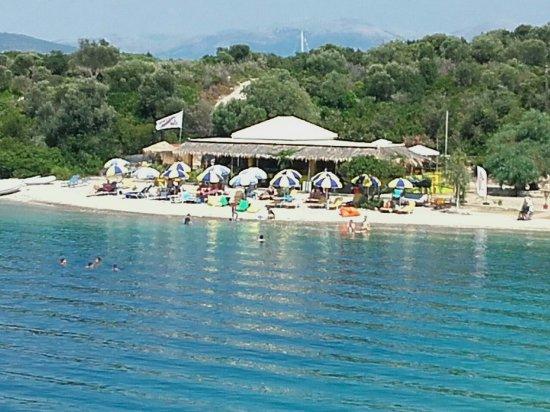 Meganisi, Greece: Spiaggia di Fanari