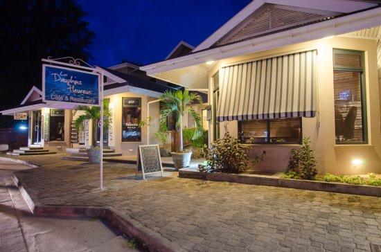 Anse Royale, Seychelles: street view of restaurant