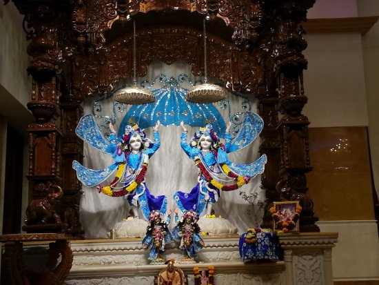 ISKCON NVCC Temple Radha Krishna