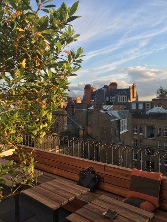 Blakes Hotel: Rooftop terrace