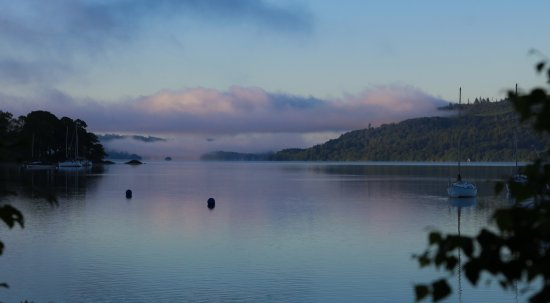 Wordsworths Guest House: photos from my early morning walk to the lake - what a place to stay!
