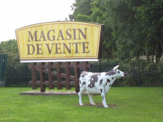Isigny-sur-Mer, Francia: enseigne du site