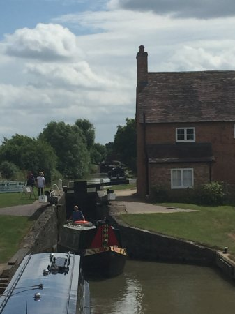 Southam, UK: The canal