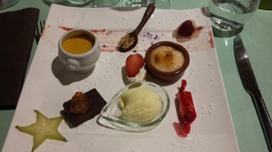Terrasson-Lavilledieu, Francia: dessert tout fait maison
