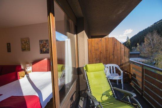 Hotel Residence La Val : BALCONE CAMERA