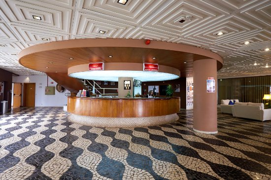 Oura Praia Hotel: Reception