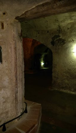 Oppenheim, Duitsland: A small part of the tunnels