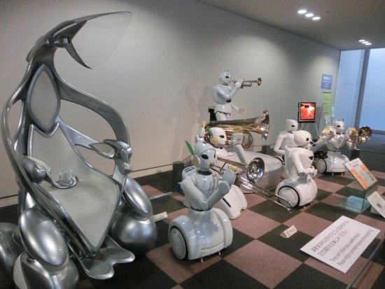 色んなロボットがいる