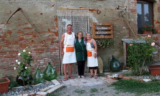 Peccioli, Italia: Stewart, Ester & Kay
