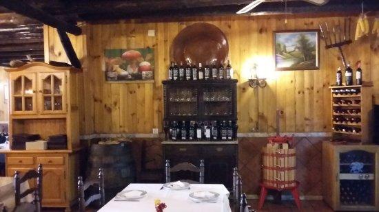 Fuenteheridos, España: Interior