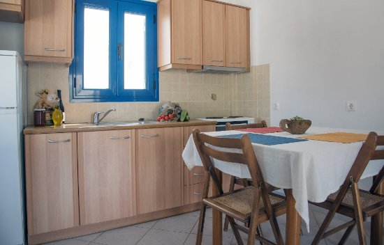 Avlemonas, Grekland: Kitchen area