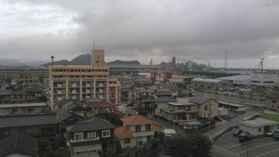 Kanda-machi, Japan: 工業地帯が見えます