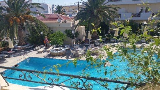 Hotel Romantica Apartments: Utsikt från vår lägenhet.