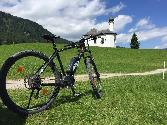 Achenkirch, Austria: Elektro Montain-Bike