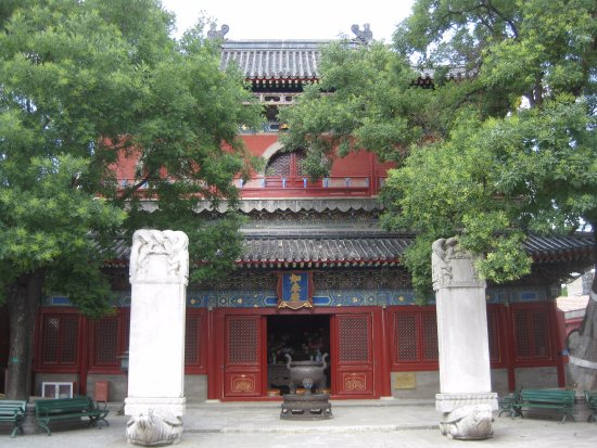 Zhihua Temple: Pavilion of ten thousand buddhas