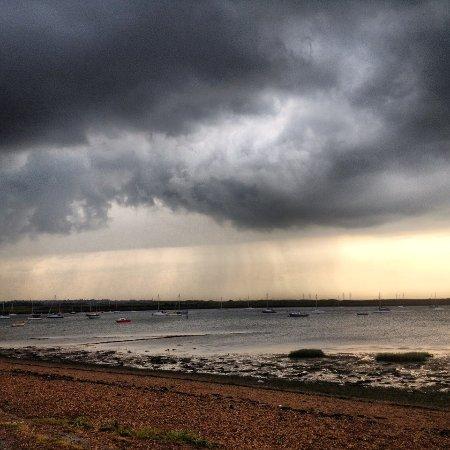 Gillingham, UK: more river view