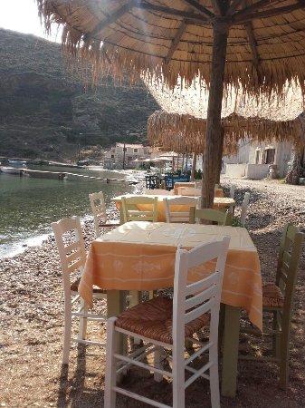 Porto Kayio, Yunanistan: Πανω στο κυμα καφεδακι,πρωινο η' γευμα!!!!!!!!!!!!!!!!!!!