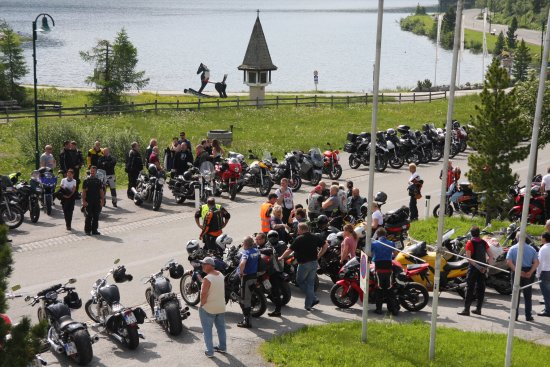 Turracher Hohe, Østrig: Biker