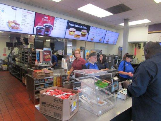 Liverpool, NY: McDonald's - serving line