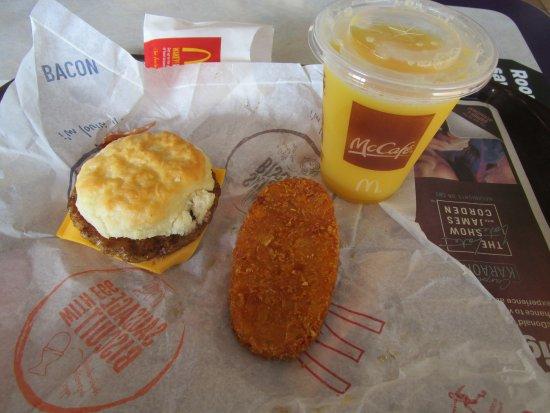 Liverpool, NY: McDonald's - my breakfast sandwich