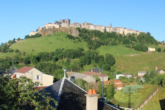 Saint-Flour, France : View from the hotel