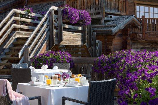 Hostellerie Du Pas De L'Ours : petit-déjeuner