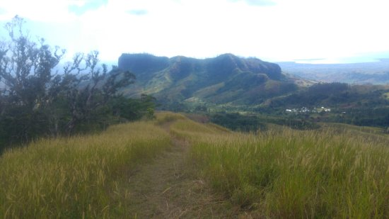 Koroyanitu National Heritage Park: Hiking up the trail