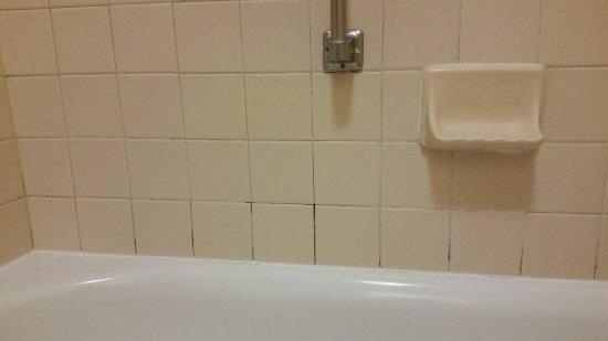 Econo Lodge Inn & Suites: Bathtub