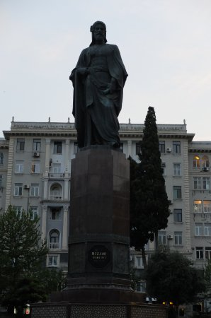 Monument to Nizami Ganjavi