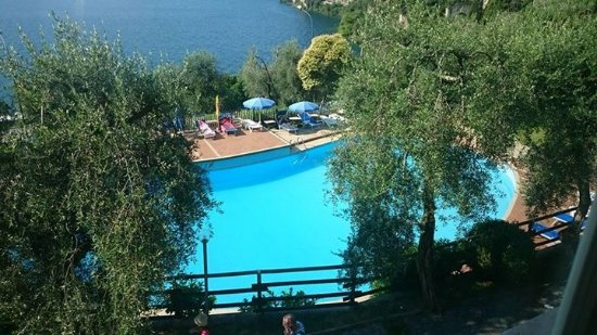 Hotel San Giorgio: Blick auf den Pool