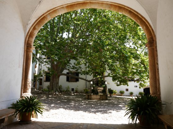 Bunyola, Spania: Patio (ba arp)