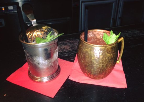 Mate Bar: Gin Gin and Moscow Mule