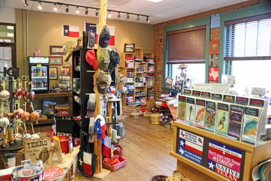 Brownwood, Teksas: Gift shop with lots of interesting items to purchase