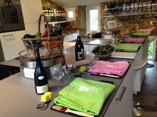 Vertou, Francia: Cours de cuisine et d'Oenologie