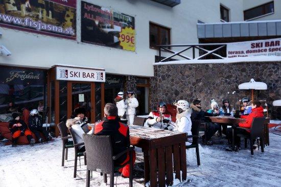 Hotel Fis Jasna: Ski bar pri stanici lanovky