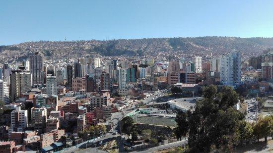 Mirador Laikakota : View from the Mirrador Laikacota