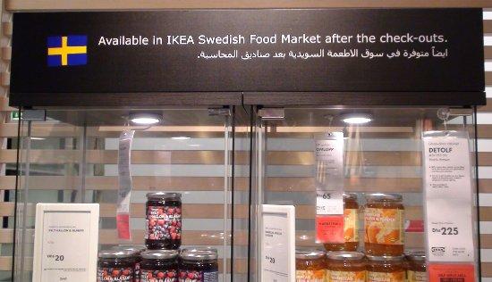 IKEA Restaurant: IKEA Dubai - Svenska varor