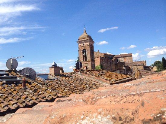 San Giovanni d'Asso, Italie : vista dalla Torre