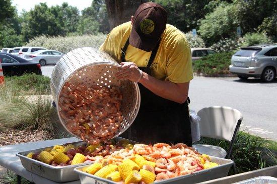 Vale, Северная Каролина: Shrimp Boil