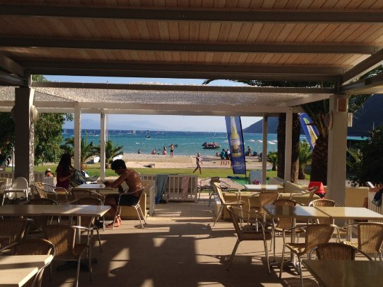 Neilson Cosmos Beachclub: View from the bar