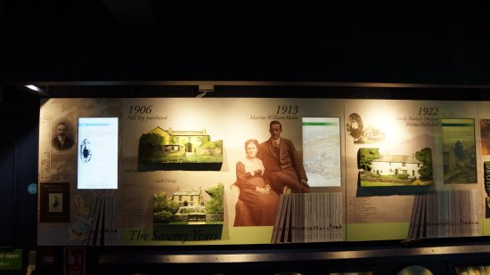 Bowness-on-Windermere, UK: History Wall