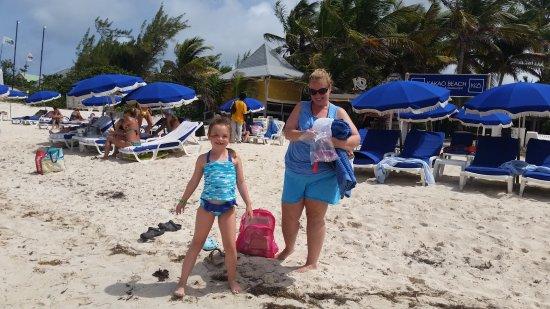Sint Maarten, St-Martin / St Maarten: Orient Beach