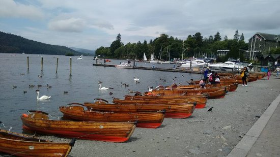 Bowness-on-Windermere, UK: view of lake Windermere