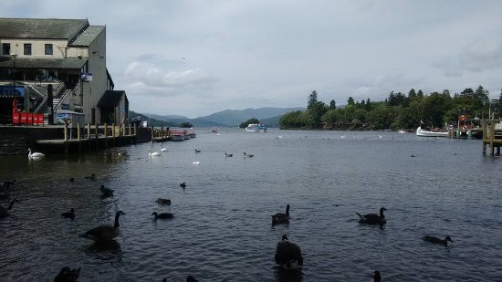 Bowness-on-Windermere, UK: View of Windermere