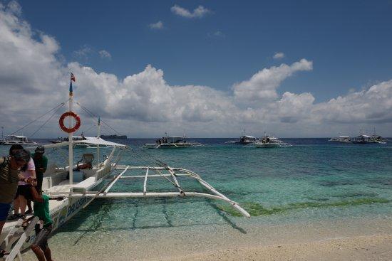 Balicasag Island, Filippinerna: Arrival