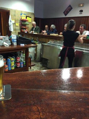 """Vilaflor, Spanien: Abendstimmung im """"Casino"""""""