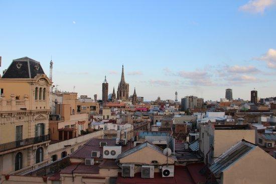 Vista Desde La Terraza Picture Of Hotel Ohla Barcelona