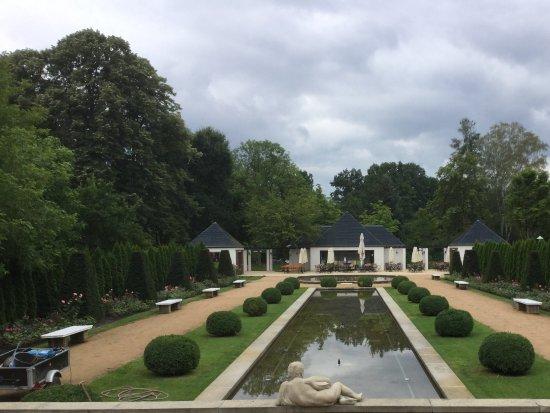 Forst, Niemcy: Blick zu den Wasserspielen